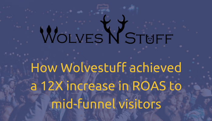 How Wolvestuff achieved a 12X increase in ROAS to mid-funnel visitors